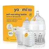 Yoomi Feeding Bottle, Double Warmer, SlowFlow Teat, and Pod Combo (5oz)