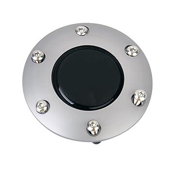 Klingeltaster Klingelknopf Hupenknopf Hornbutton Druckknopf Lenkrad Titanium