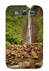 Perfect Natural Waterfall Case Cover Skin For Galaxy S3 Phone Case