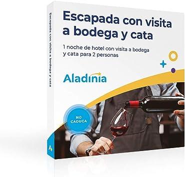 ALADINIA Caja Regalo Experiencias Escapada con Visita a Bodega y Cata para 2 Personas con Validez Ilimitada | Planes únicos de Enoturismo en España (Hotel, Visita a Bodega y Cata): Amazon.es: Deportes