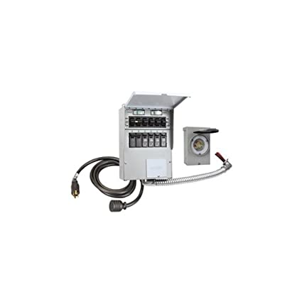 amazon com: reliance controls 306crk pro/tran-2 6 circuit transfer switch  kit: home improvement