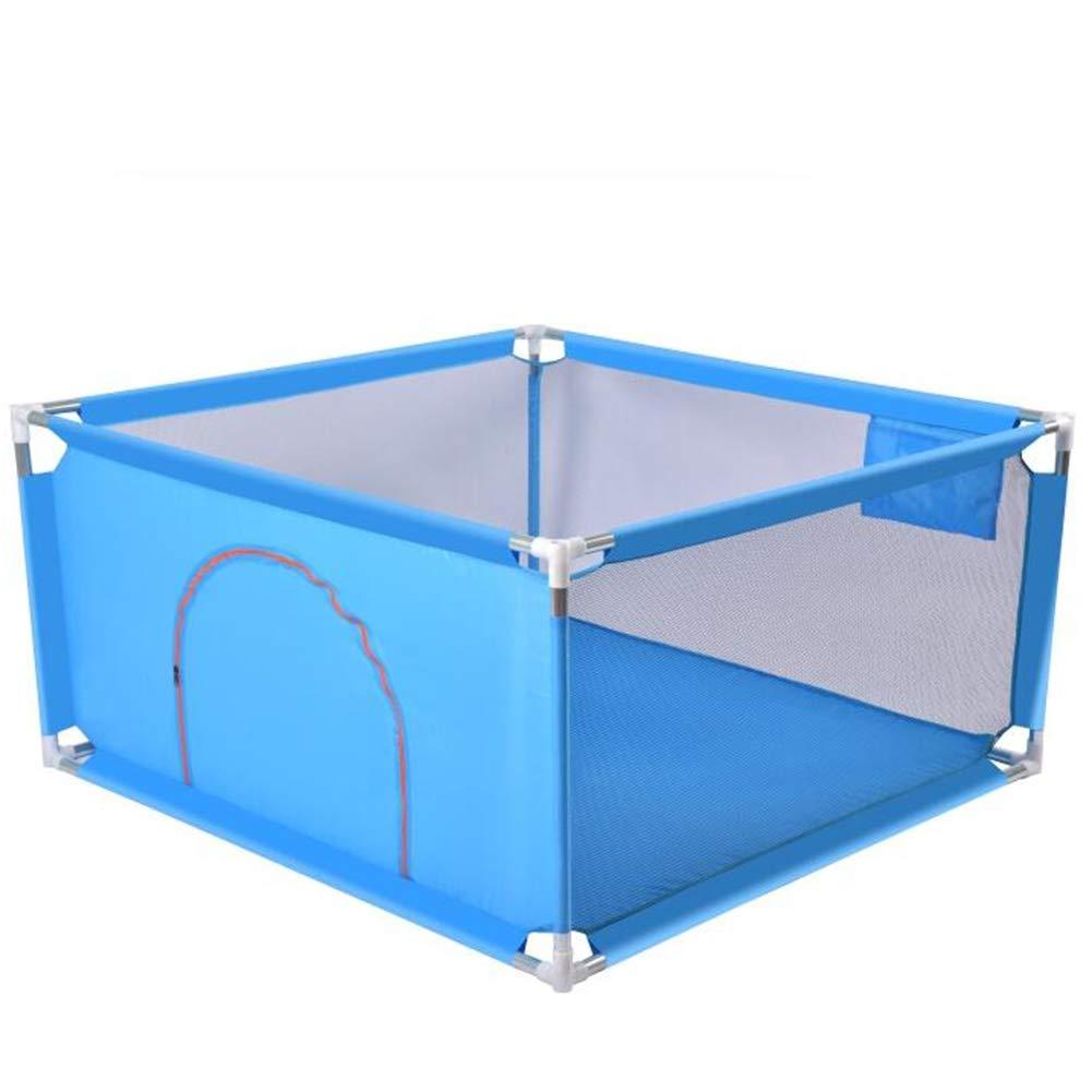 Dongyd Baby-Zaun-Zaun Kinderspiel-Zaun-Kinderspielplatz (Farbe   Grün) Blau