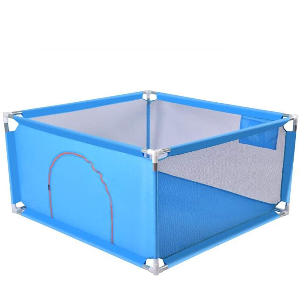 Yxsd Baby Fence Fence Children's Play Fence Infant Indoor Safety Playpen (Color : Blue)