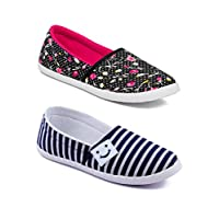 Asian Women Casual Shoes Combo Pack of 2-3012-W67