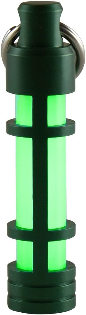 Anodized Aluminum EMBRITE Glow Fob: Precision Glow in The Dark Keychain TEC Accessories Next Generation