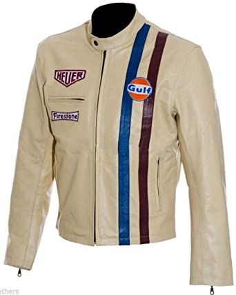 sale usa online really cheap hot sales Men's Steve McQueen Le Mans Gulf Racing Style Stripes ...