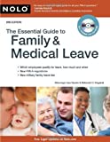 img - for The Essential Guide to Family & Medical Leave 2nd edition by Guerin J.D., Lisa, England Attorney, Deborah C. (2009) Paperback book / textbook / text book