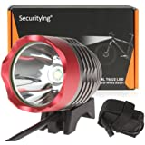 Waterproof 500 Lumens LB-XL T6 4 Modes Headlamp & Bicycle Light + 6400mAh Battery Pack