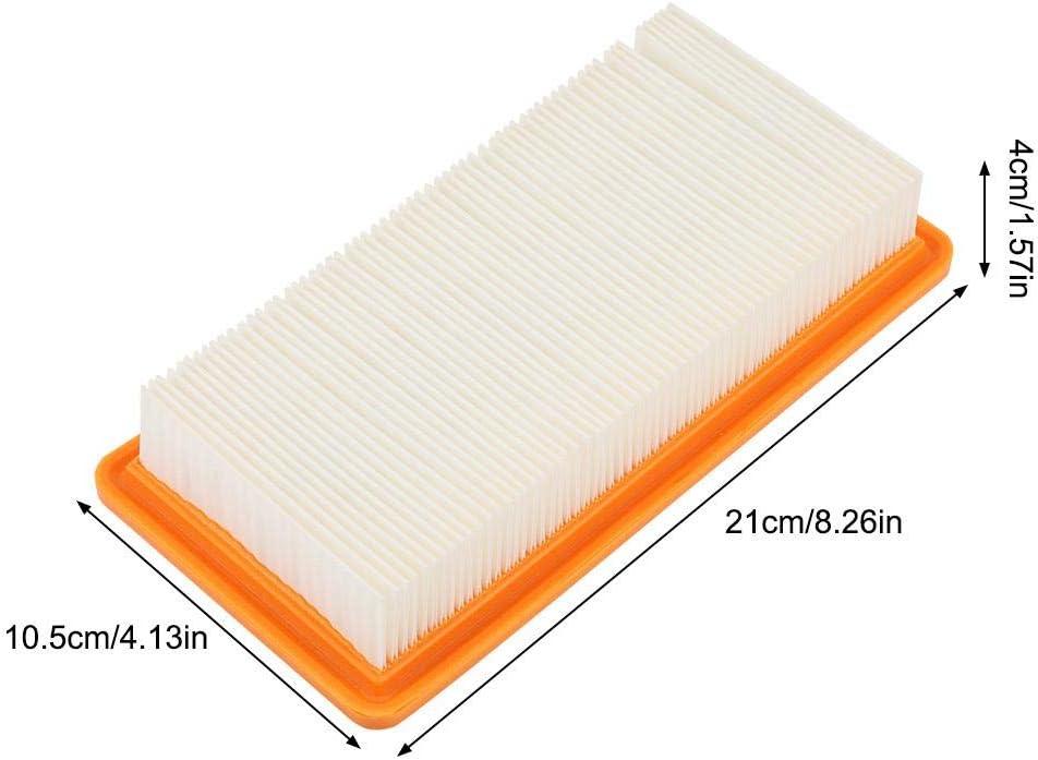 Pi/èces dAspirateur Filet de Filtre pour Filtre /à Poussi/ère de Rechange S/érie Karcher DS5500 DS6000 DS5600