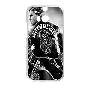 Sons Of Anarchy StylishHigh Quality Comstom Plastic case cover For HTC M8 by mcsharks