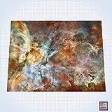 GG Promo Galaxy, Carina Nebula Star Birth in The Extreme - #GM101 - 60'' x 80'' (4' x 6' Plus) Fleece Table Top Miniature War Gaming Battle Mat