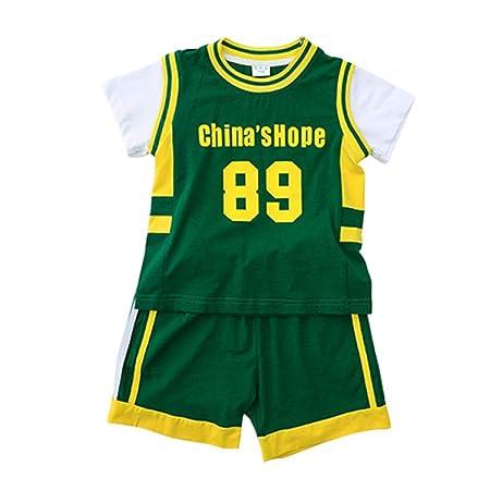 HOMDREAM Camiseta De Baloncesto para Niños Ropa De Baloncesto ...