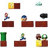 21 pcs 3D Mini Super Mario Resin Funny Fridge Magnets Kitchen School Office Home Decor Toys for Kids