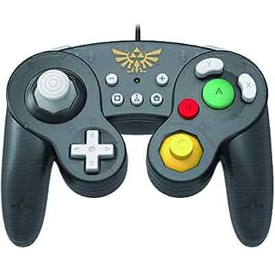 Amazon.com: HORI Nintendo Switch Battle Pad (Peach