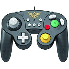 Nintendo Switch Battle Pad (Zelda) GameCube Style Controller Officially Licensed by Nintendo