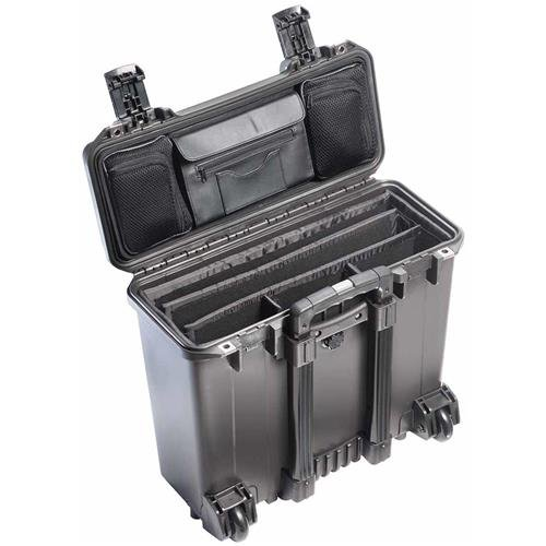 Pelican Storm Case iM2435 - w/Padded Dividers & Lid Organizer - Black