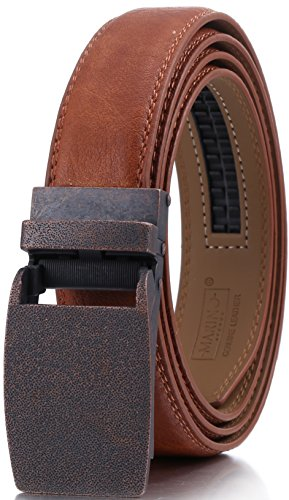 marino-mens-genuine-leather-ratchet-dress-belt-with-linxx-buckle-enclosed-in-an-elegant-gift-box-tan