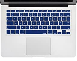 Kuzy - NAVY BLUE Keyboard Cover Silicone Skin for MacBook Pro 13\