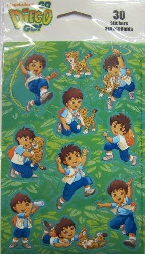 Go Diego Go Scrapbook Stickers ()