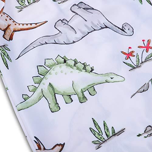 Bebogo Toddler Girls Spaghetti Straps Dinosaur Sunflower Swimming Suit Sleeveless One Piece Swimwear Swimsuit