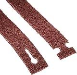 Walter Blendex Linear Finishing T-Lock Abrasive Belt, 3800 Maximum RPM, 25'' Length x 1-3/16'' Width, Grit Medium, Maroon (Pack of 3)