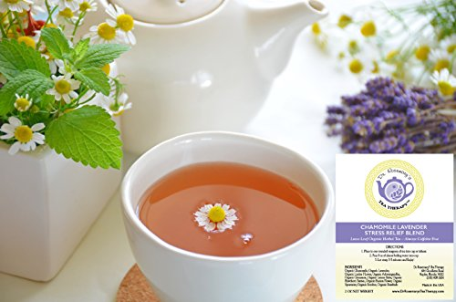 photo Wallpaper of Dr. Rosemary's Tea Therapy-Chamomile Lavender Stress Relief Blend   Loose-