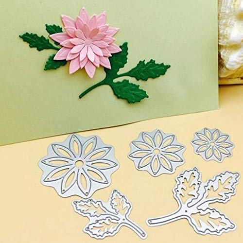 Elevin(TM)  New Metal Cutting Dies Stencil DIY Scrapbooking Embossing Album Paper Card Craft]()