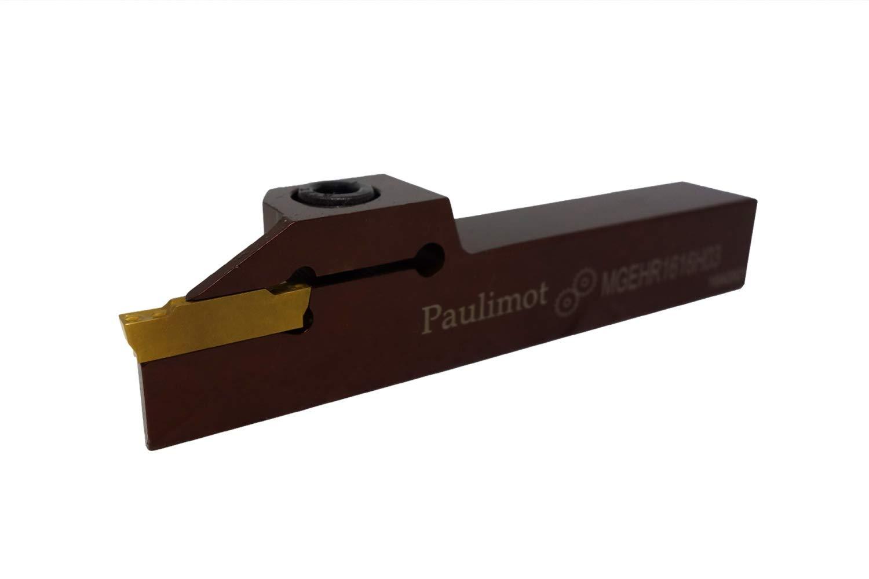 Wendeschneidplatte PAULIMOT Abstechstahl-Halter 20 x 20 mm inkl