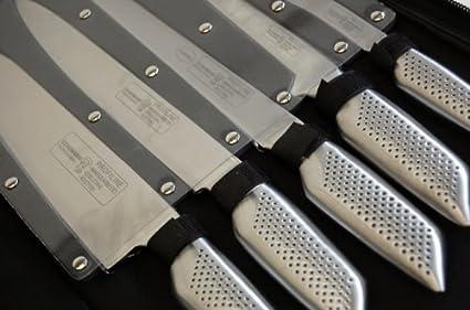 Pochette Couteaux 12 Pieces Inox Pro Schumann Amazon Fr Cuisine Maison