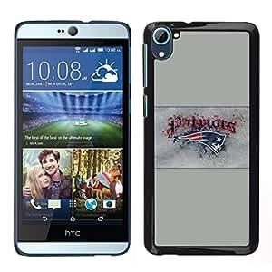 TaiTech / Prima Delgada SLIM Casa Carcasa Funda Case Bandera Cover Armor Shell PC / Aliminium - Patriotas - HTC Desire D826