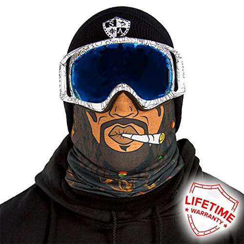 Salt Armour Frost Tech Fleece Face Shield | (Rasta Face)