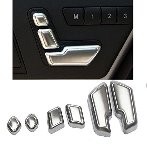 Mercedes Ml63 Amg (MATCC Chrome Door Seat Adjust Buttons Switch For Mercedes-Benz E Class W212 218 CLS)
