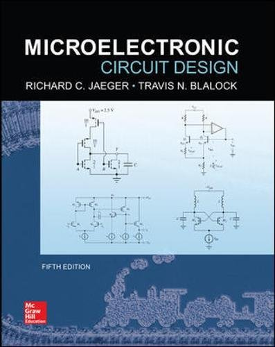 Microelectronic Circuit Design, 5th Edition