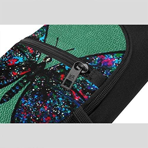 美しい蝶々 斜め掛け ボディ肩掛け ショルダーバッグ ワンショルダーバッグ メンズ 多機能レジャーバックパック 軽量 大容量