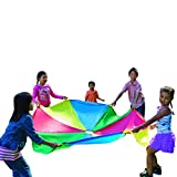 Pacific Play Tents Kids 45 Foot Enormous Parachute with Handles and Carry Bag