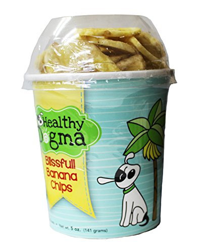 Healthy Dogma Blissful Banana Crisps Treat For Dogs - 5 Oz