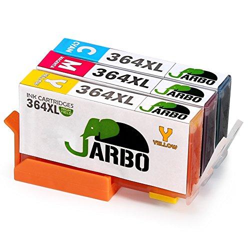 682 opinioni per JARBO Compatibile HP 364 XL Cartucce d'inchiostro (1 Ciano,1 Magenta,1 Giallo)