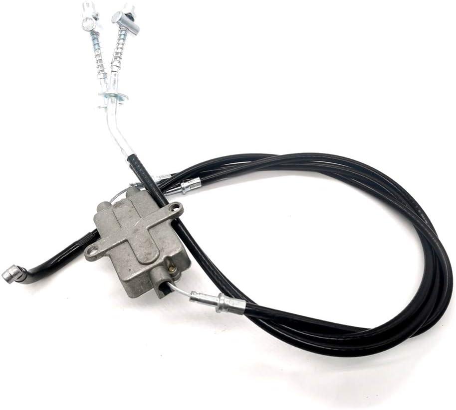 Rxmgf Front Brake Cables for Yamaha ATV Moto 4 YFM200 YFM225 YFM250 YFM350 Replaces 52H-26371-00-00 52H-26361-00-00