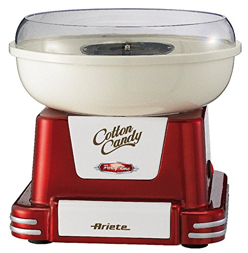 Eine gute Zuckerwattemaschine bekommen Sie bei dem Hersteller Ariete.