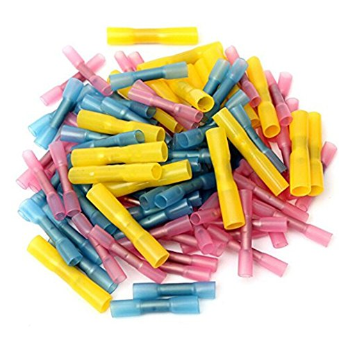 100pcs-assorted-22-10-heat-shrink-butt-wire-crimp-terminal-connector-electrical-red-blue-yellow