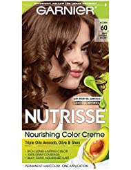 Garnier Nutrisse Nourishing Hair Color Creme, 60 Light...
