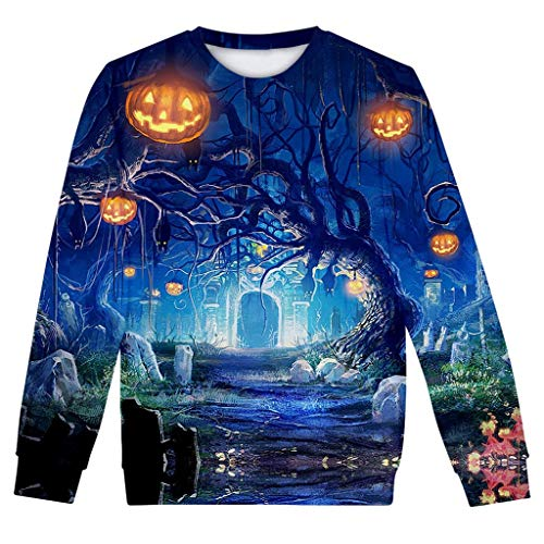 Bloody Mary Halloween Costume Ideas - KLFGJ 3D Printed Halloween Women Sweatshirts