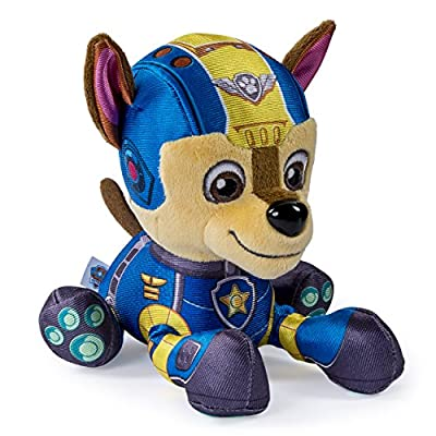 """Paw Patrol Air Rescue, 8"""" Plush Pup Pals, Chase"""