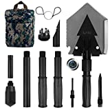 Iunio Military Portable Folding Shovel [38 inch Length] and...