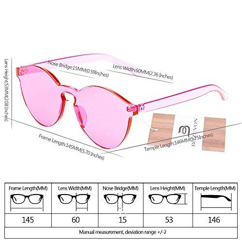 Unisexe Uv400 Soleil Candy Color Intégrées Œil C7 Chat Bozevon Lunettes De Rose 8A4xzp