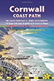 Cornwall Coast Path: Trailblazer British Walking Guide: Practical Walking Guide from Bude to Plymouth with 142 Large-Scale Walking Maps & Guides to 81 Towns & Villages (British Walking Guides)