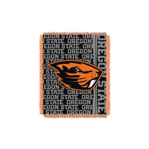 The Northwest Company Oregon State Beavers NCAA Triple Woven Jacquard Throw (Double Play Series) (48x60) (2-Pack) ()