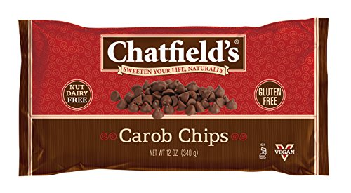 Powder 12 Oz Carob (Chatfield's All Natural Baking Chips, Carob, 12 Ounce (Pack of 12))