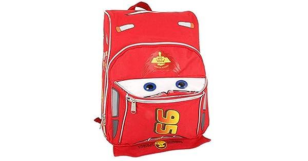 Amazon.com: Cars Rayo McQueen forma bebé pequeño mochila de ...