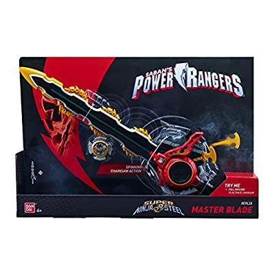 Power Rangers Super Steel Ninja Ultra Battle Gear, Master Blade: Toys & Games